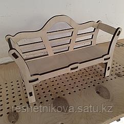 Скамейка для Барби Мебель для кукол
