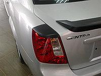 Реснички на задние фонари Daewoo Gentra