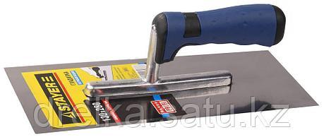 """Гладилка STAYER """"PROFI"""" нержавеющая с двухкомпонентной ручкой, 130х280мм, фото 2"""