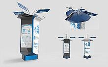 Уличные Интерактивные рекламные тумбы ''Tehno-Sky''