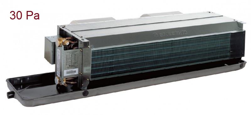 Канальный бескорпусный фанкойл FP-68WAH-K (HP)