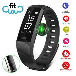 Фитнес-браслет 10 в 1 FITCloud Band2Pro {мониторинг сна, пульса, давления, уровня кислорода, активности}