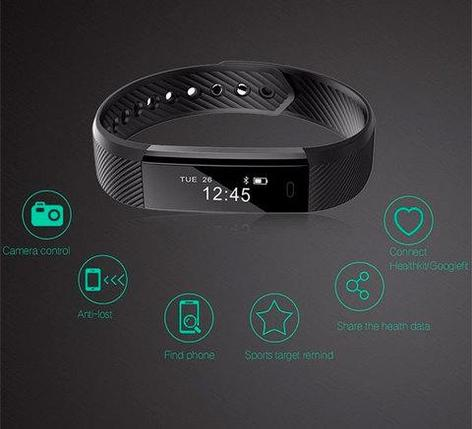 Фитнес-браслет 10 в 1 FITCloud Band2Pro {мониторинг сна, пульса, давления, уровня кислорода, активности}, фото 2