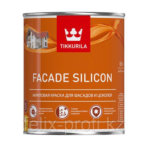 Facade Silicon - Акриловая краска для фасадов и цоколей - База С - 9л
