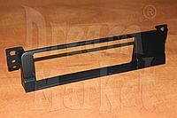 Переходная рамка BMW 3 E46, 1DIN, пластик, черная, фото 1