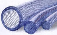 Шланги для полива ПВХ армир-е нитью прозрачные диаметр D15 (в рулоне 25м и 50м), фото 1