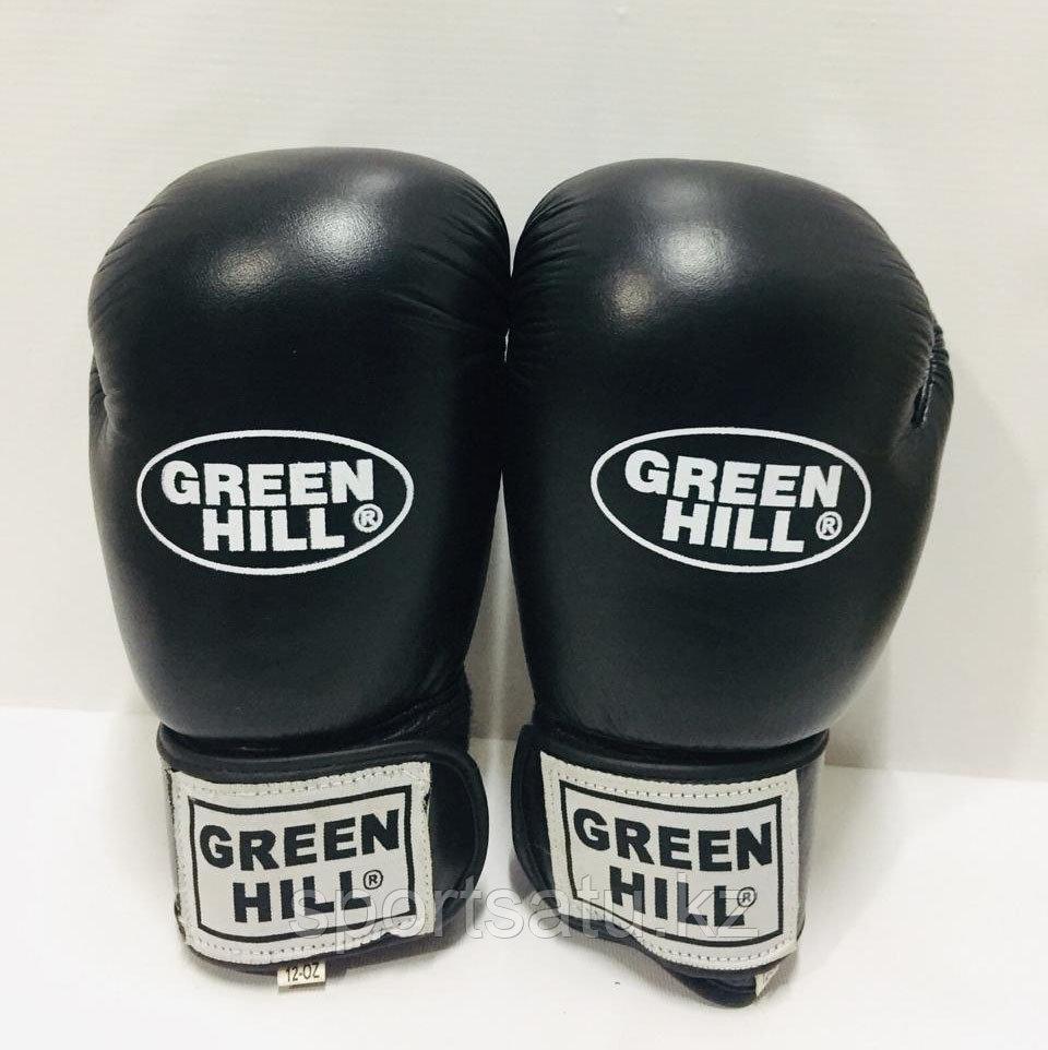 Боксерские перчатки Green Hill кожа