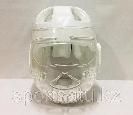 Шлем с прозрачной маской для кудо
