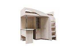 Кровать двухъярусная, коллекции Вега, Сосна Карелия, СВ Мебель (Россия)