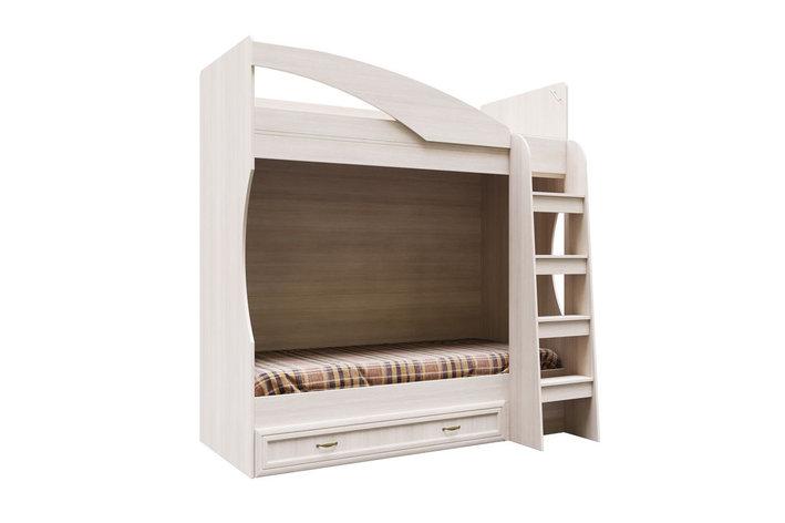 Кровать двухъярусная, коллекции Вега, Сосна Карелия, СВ Мебель (Россия), фото 2