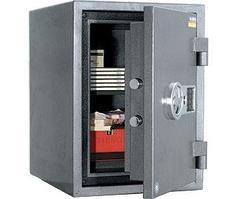 Огневзломостойкий сейф GARANT- 49 EL (490х360х440 мм)