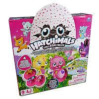 Hatchimals Настольная игра Memory + 4 коллекционные фигурки
