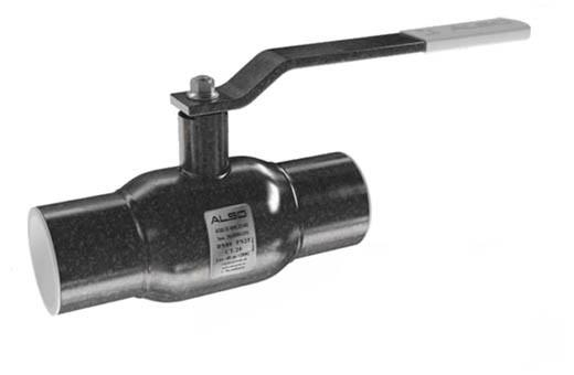 Кран шаровый стальной под приварку DN80 Also Россия