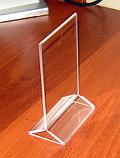 Менюхолдер тейбл тент А6 вертикальный, фото 2