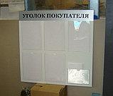 Стенд информационный 6 карманов без профиля, фото 2