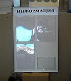 Стенд информационный 4 кармана в профиле, фото 3
