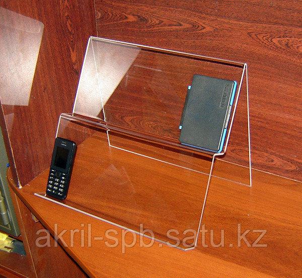 Горка двухъярусная для смартфонов и планшетов