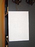 Карман информационный А4 на крючке из пластика ПЭТ, фото 2