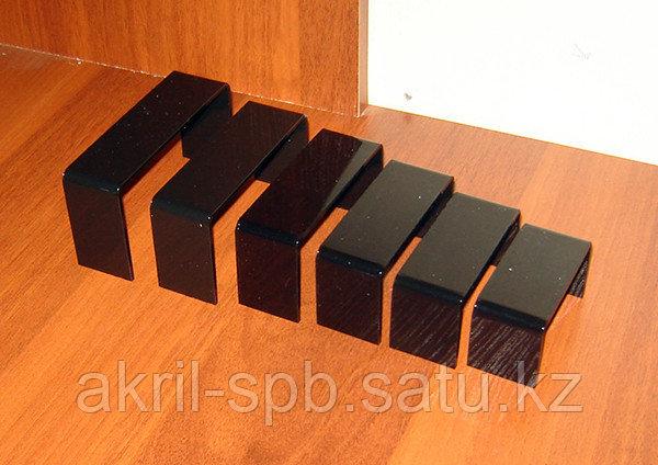 Подставки П образные комплект 6 шт акрил 3 мм