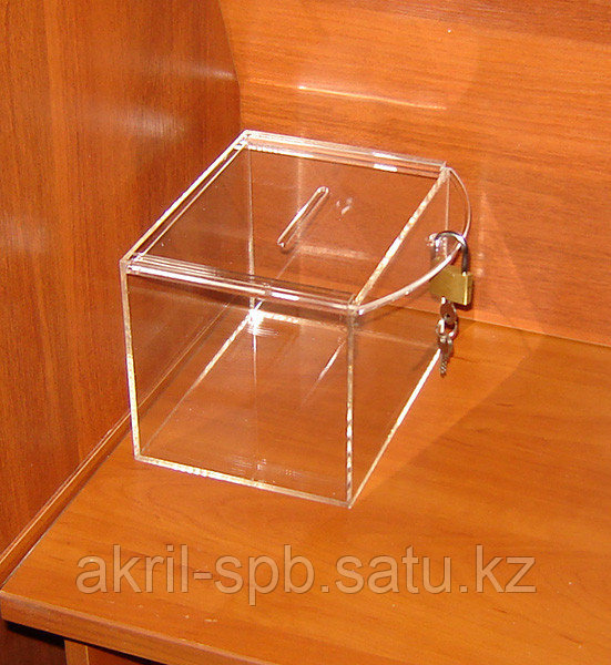 Ящик для пожертвований 200х150х150