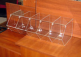 Диспенсер для мармеладов снеков орехов 5 ячеек прямая обзорная часть, фото 4