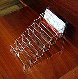 Подставка под визитки 6-ти яр, фото 4