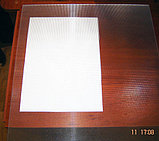 Поликарбонат 2 мм Призма 588х588 мм для светильников, фото 4