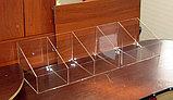 Диспенсер открытый для конфет мармеладов орехов 900х250х200 100 5 ячеек, фото 2