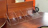 Диспенсер открытый для конфет мармеладов орехов 900х250х200 100 5 ячеек, фото 3