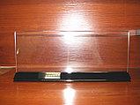 Меню-холдер тейбл тент 113х300 черное основание, фото 3