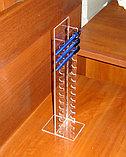 Подставка под ручки вертикальная на 13 шт диаметром 13 мм, фото 2