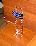 Подставка под ручки вертикальная на 13 шт диаметром 13 мм, фото 3