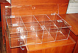 Конфетница для мармеладов конфет орехов 600х300х150-8 ячеек с крышкой, фото 3