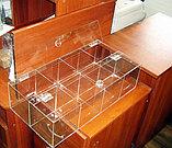 Конфетница для мармеладов конфет орехов 600х300х150-8 ячеек с крышкой, фото 4