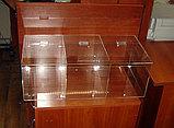 Конфетница для мармеладов конфет орехов 600х300х200-3 ячееки с крышкой, фото 6