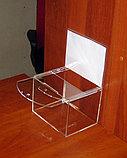 Ящик для пожертвований 200х150х150 300 с карманом, фото 2