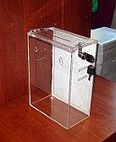 Ящик для анкет 215х120х300 с прорезями под ремень и карманом А4, фото 6