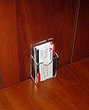 Карман под визитки верт 25мм, фото 2