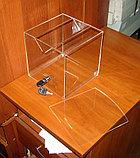 Ящик для пожертвований 200х200х200 широкая щель, фото 3
