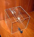 Ящик для пожертвований 200х200х200 широкая щель, фото 4