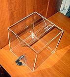 Ящик для пожертвований 200х200х200 широкая щель, фото 5