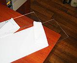 Поликарбонат монолитный 6 мм прозрачный, фото 2