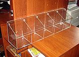 Диспенсер для мармеладов, орехов, снеков 5 ячеек 150х748х200, фото 2