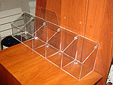 Диспенсер для мармеладов, орехов, снеков 5 ячеек 150х748х200, фото 3