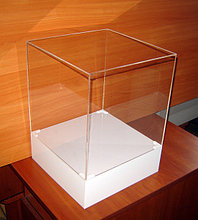 Колпак-короб на товар макет 300х300х300/400 мм