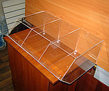 Диспенсер открытый для конфет сухофруктов сыпучих продуктов 605х395х220 3 ячейки, фото 2