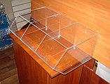 Диспенсер открытый для конфет сухофруктов сыпучих продуктов 605х395х220 3 ячейки, фото 4