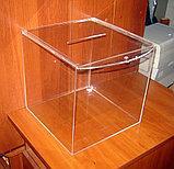 Ящик с замком под букет невесты 300х300х300, фото 2