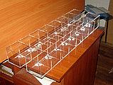 Диспенсер демонстратор 755х100х100 16 ячеек 2-х ярусный для конфет, фото 4