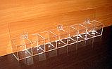 Диспенсер демонстратор для конфет 755х100х100 8 ячеек, фото 2